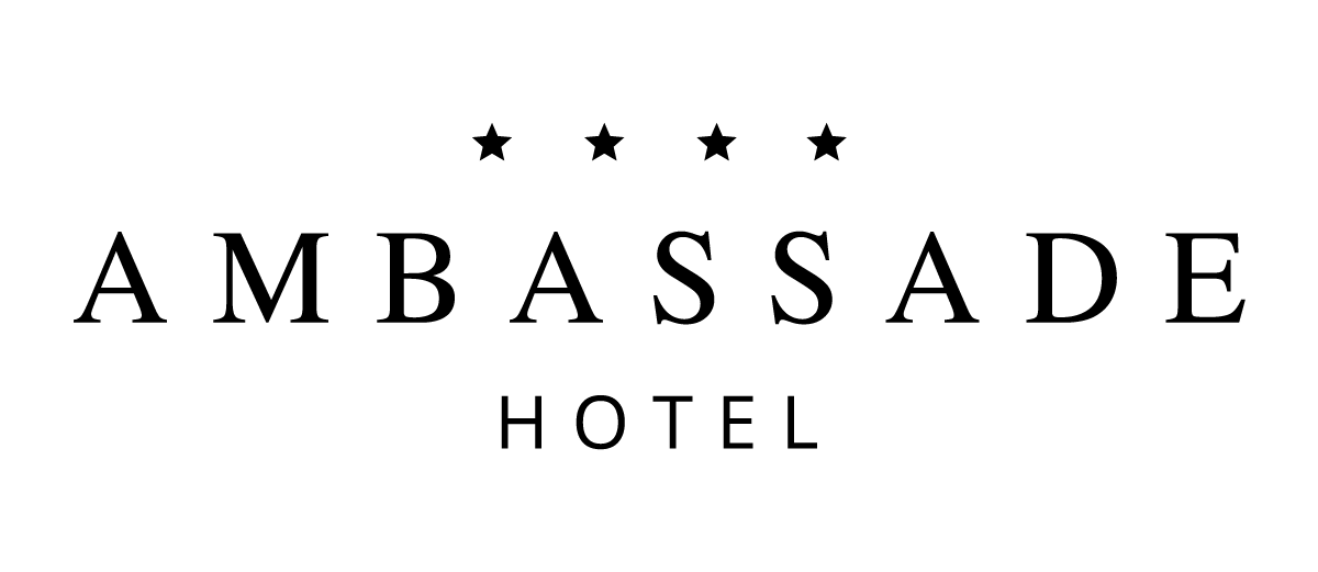 Ambassade hotel amsterdam logo 2016 black marketing bike Ambassade hotel amsterdam